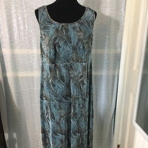 Dress Barn women's maxi dress size 14W